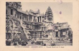 Camboya--Angkor--Façane Ouest 3º Etage - Camboya