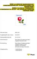 "2010, Erläuterungsblatt (Abhandlung) ""Augarten Porzellan, Wiener Rose"" - Austria"