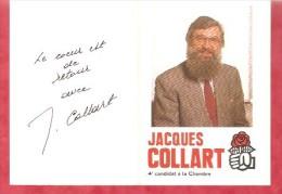 1988 - Elections- Jacques COLLART 4e Candidat à La Chambre - Calendriers
