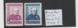 Dominik. Rep. Mi.Nr. 370-71/  Stamp Cent. 1940 ** MNH - Dominikanische Rep.