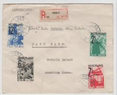 NL272/ Tourist Set 1932 Ex Venlo To American Samoa. SCARCE Destination
