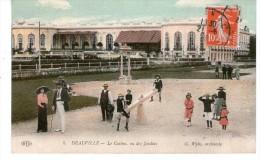 DEAUVILLE - Le Casino, Vu Des Jardins - Deauville