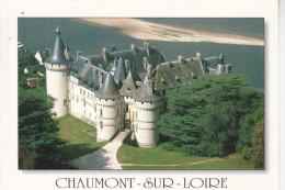 CHAUMONT (41-Loir Et Cher), Le Château, Vue Aérienne De L´entrée, La Loire, Ed. Valoire 1999 - France