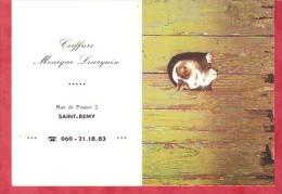1985 - Coiffure Monique Leurquin Saint-Remy - Calendriers