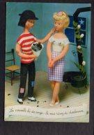 Illustrateur Dessin (P) Peynet N° 57 - Les Amoureux De .. - C'est Que Votre Coeur A  Besoin De Chaleur - Peynet