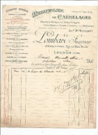 Facture , Manufacture De Carrelages , LOMBARD , LOUDUN , Vienne , 1905 - Factures & Documents Commerciaux