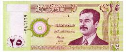 IRAQ 25 DINARS 2001 Pick 86 Unc