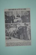 Coupure De Presse 1960 Fête De La Gare RIOM Puy De Dôme 63 - Historical Documents