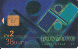 MALTA(chip) - Payzone, 08/01, Used - Malte