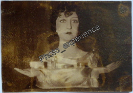 Photo Art Decoratif Mode Mannequin Femme Women Fashion 1930 - Objects
