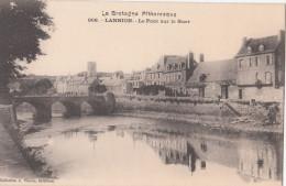 LANNION  ( 22 )  Le Pont Sur Le Guer   (  Port Gratuit ) - Lannion