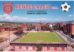 Football Stadium Estadio Stade Stadio Comunale Di Calcio Marco Lorenzon Rende Calabria (gr.-col.-n.v.) - Calcio