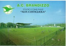 Football Stadium Estadio Stade Stadio Comunale Brandizzo Alex Costigliola Calcio Sport - Calcio