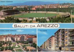 Stadio Comunale Arezzo Tematica Sport Calcio (gr.-col.-n.v.) - Calcio