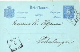 INDES NEERLANDAISES ENTIER POSTAL 1903 - Indes Néerlandaises