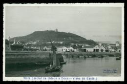 VIANA DO CASTELO -  Vista Parcial Da Cidade E Doca ( Ed. Gavaert) Carte Postale - Viana Do Castelo
