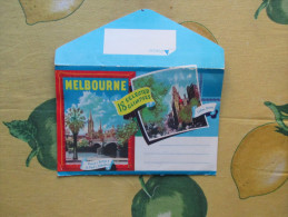 MELBOURNE Published By MURRAY Views  Gympie Old 18 Selected Glimpses FOLDER - Melbourne