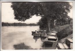 GOUVIEUX - TOUTEVOIX 60 - Bords De L'Oise - CPSM Dentelée Noir Blanc PF 1957 - Oise - Gouvieux