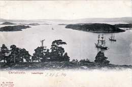 CHRISTIANIA Indseilingen 1904 - Norwegen