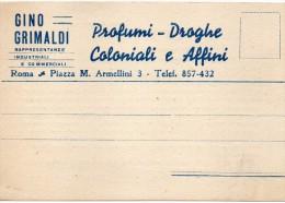 Tematica Pubblicita' Profumi Del 1944 (vedi Scansione) - Pubblicitari