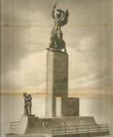 K0208 Capodistria - Monumento A Nazario Sauro - Stampa Antica - Prints & Engravings