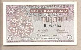 Laos - Banconota Non Circolata Da 1 Kip - 1962 - Laos