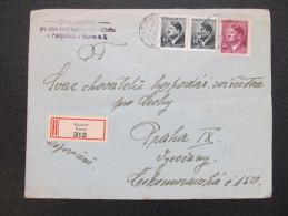 R-BRIEF Polipsy - Praha 1944  /// D*16308 - Böhmen Und Mähren