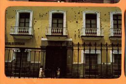 EZA-10  FAchada De La Casa De Los Hermanos Serdan, Puebla, Mexico Non Used. - Mexiko