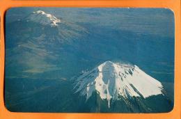 EZA-11  Volcanes Popocatepetl E Ixtaccihuatl-Volcanoes, Mexico Non Used. - Mexiko