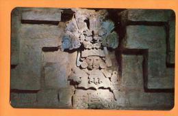 EZA-13  Figura En La Tumba No 104, Monte Alban Oax Mexico Non Used. - Mexiko