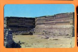 EZA-16  Ruinas De Mitla, Oax Mexico Non Used. - Mexiko