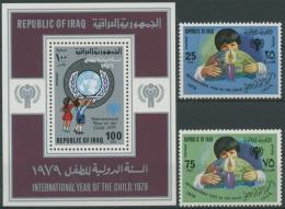Irak 1979 Jahr Des Kindes 1008/09, Block 31 Postfrisch (R6162) - Irak