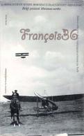 Samaine D'Aviation Bordeaux Beau Désert Mérignac - Brégi Passant Moranne Arrêté - Avion Aviateur - 2 SCANS - Aviateurs