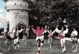 (64) Anglet Chiberta - Allée De L'Empereur - Le Folklore Basque - Groupe Orok Bat - Danse Navarraise - 2 SCANS - Anglet