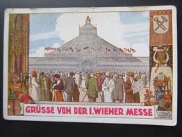 AK WIEN Wiener Messe Künstlerkarte Ca.1910  ///// T1414 - Sonstige