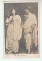 1904 GB Postcard WILSON BARRETT & MAUD JEFFRIES Actor  Pmk  SHIPLEY 184 DUPLEX Theatre Evii E7 Cover - Theatre