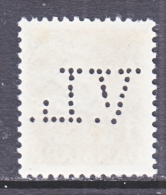 DENMARK  297    (o)   PERFIN - 1913-47 (Christian X)