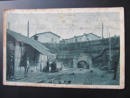 AK HANDLOVA Bergbau Grubeneinfahrt 1930  ///// T1461 - Eslovaquia