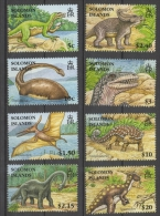 Isole Salomone Solomon Islands 2006 - Animali Preistorici  Prehistoric Animals Dinosauri Dinosaurs MNH ** - Isole Salomone (1978-...)
