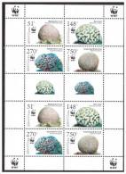 Antillen / Antilles 2005 WWF Koraal Coral MNH Sheet - Antillen