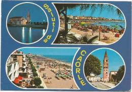 A3175 Saluti Da Caorle (Venezia) - Vedute - Panorama - Multipla / Viaggiata 1982 - Italia