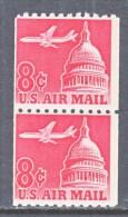 U.S. C 65a X 2   **  Tagged - Air Mail