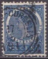 Ned. Indië: Vierkantstempel MEESTER CORNELIS Op 1903-1908 Koningin Wilhelmina 12 ½  Cent Blauw NVPH 49 - Indes Néerlandaises