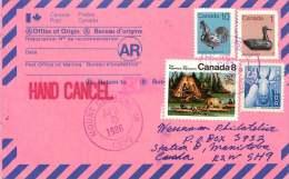 1986  Used AR Card  From USA - Cartas