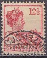 Ned. Indië: Langebalkstempel DJOMBANG Op 1913-1932 Koningin Wilhelmina 12 ½  Cent  Rood NVPH 117 - Indes Néerlandaises