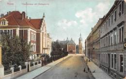 Bg18659 Riesa Albertstrasse Mit Amtsgericht - Riesa