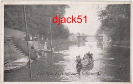 94 - Les Sports - Canotage à Joinville ( Début 1900 ) / 2 Scans - Joinville Le Pont