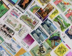 British Commonwealth Small Islands KILOWARE StampBag 250g (8½oz) - Lots & Kiloware (mixtures) - Max. 999 Stamps
