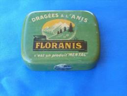 """Boîte Métal """"FLORANIS"""" Dragées à L'anis. - Boîtes"""