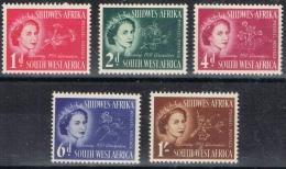 BB 668 SUIDWES-AFRIKA  XX   YVERT NRS 232/236  ZIE SCAN - Collezioni (senza Album)